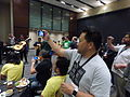 Wikimania 2015 last meeting with mariachis 01.JPG