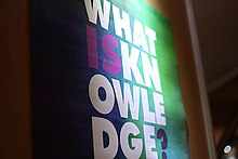 Wikimania 2018 - What is Knowledge Art Exhibition 01.jpg
