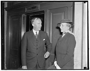 Florence Jaffray Harriman - Harriman with Norwegian Ambassador Wilhelm Morgenstierne in 1937