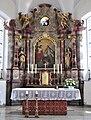 Wilhelmskirch Pfarrkirche Hochaltar gesamt.jpg