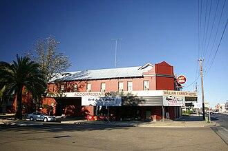 William Farrer - William Farrer Hotel in Wagga Wagga