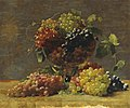 William J. McCloskey - A Variety of California Grapes in a Glass Vase.jpg