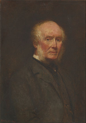 William Powell Frith - Self-Portrait at the Age of 83