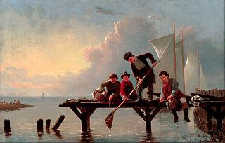 Boys Crabbing