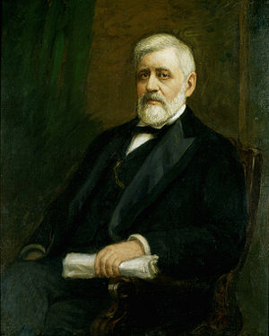 William B. Allison - Portrait of Senator Allison which hangs in the U.S. Capitol
