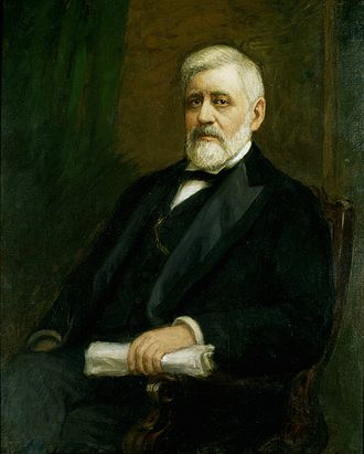 Bland–Allison Act - Portrait of Senator Allison which hangs in the U.S. Capitol.