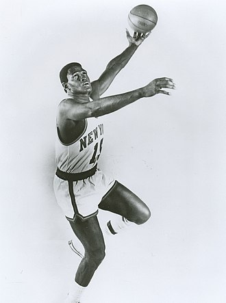 Willis Reed - 1972 publicity photo of Reed