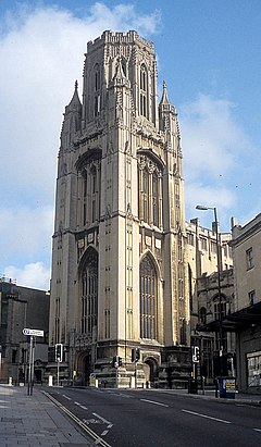 Wills Memorial Building from road during day.jpg