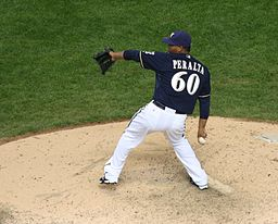 Wily Peralta Major League Debut April 22 2012