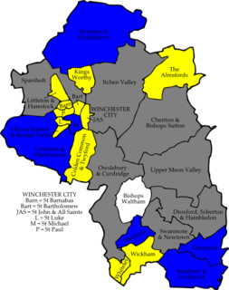 2008 Winchester City Council election
