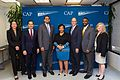 Winnie Stachelberg, Julian Castro, John King, Jr., Loretta Lynch, Thomas Perez, Daryl Atkinson, and Carmel Martin, 2016.jpg