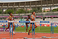 Women 100 m hurdles French Athletics Championships 2013 t160030.jpg