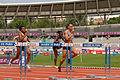 Women 100 m hurdles French Athletics Championships 2013 t160030.jpg