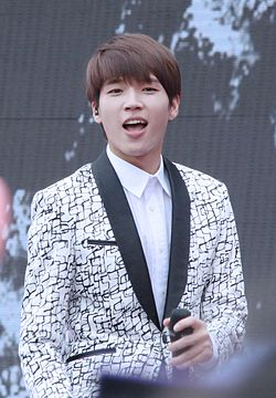 Woohyun Nam at the 2014 Hong Kong Dome Festival 02.jpg