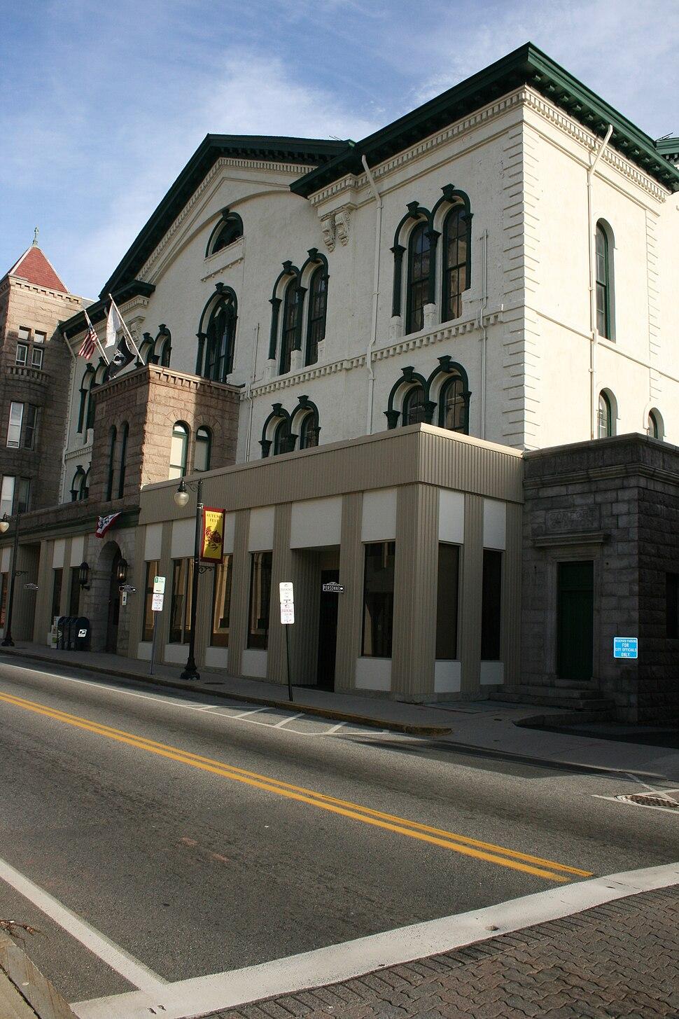 Woonsocket RI City Hall