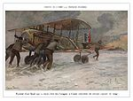 World War I by François Flameng aeroplane 01.jpg