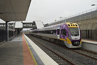 Wyndham Vale railway station railway station in Manor Lakes, Melbourne, Victoria, Australia