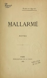 Wyzewa - Mallarmé, notes, 1886.djvu