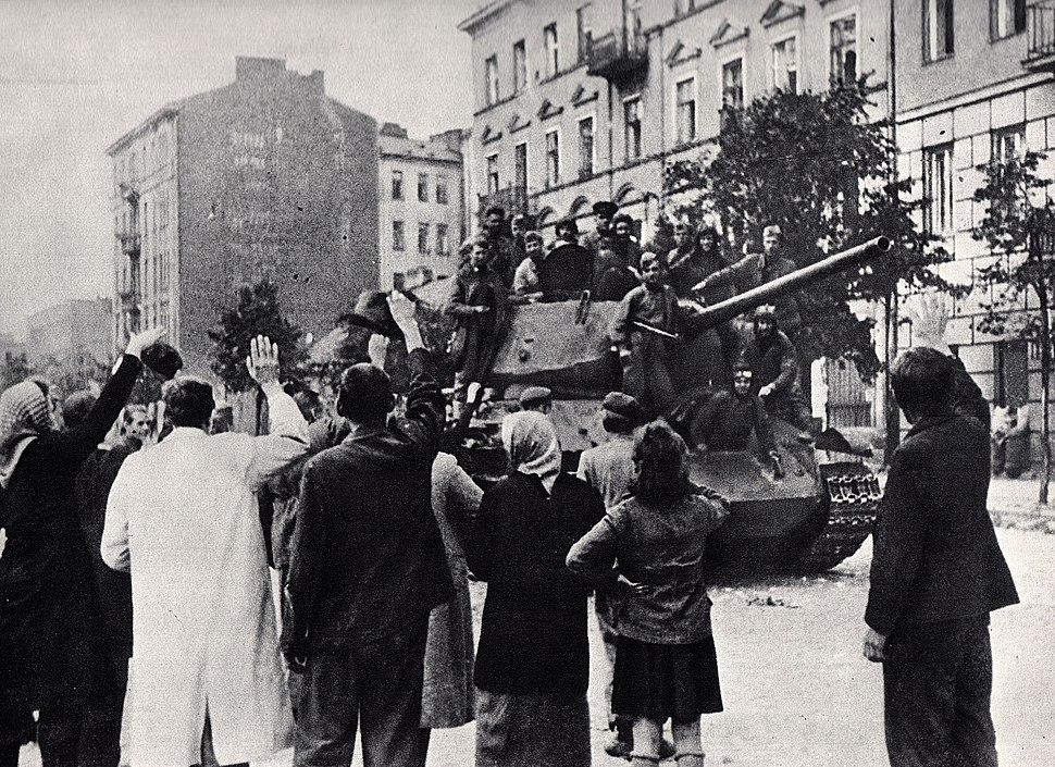 Wyzwolenie Pragi wrzesień 1944