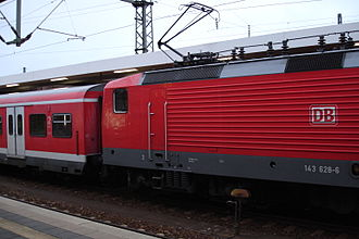 Nuremberg S-Bahn - Image: X Wagen 143