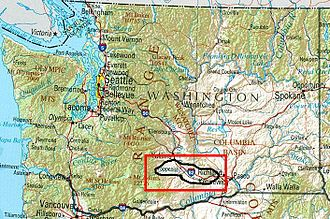 Yakima Valley AVA - Image: Yakima Valley AVA