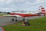 Yakolev Yak-52 '09 yellow' (LN-AIA) (27730312427).jpg