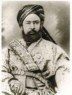 Yaqub Beg Ruler of Yettishar (Turkic) state