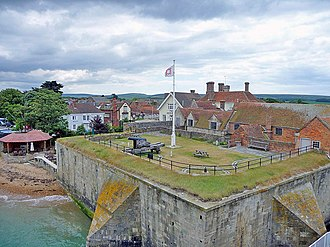 Yarmouth Castle - Yarmouth Castle, seen from the north-west