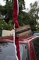Yarn bomb - car antenna (5520924459).jpg