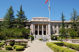 Yolo County Courthouse - The Yolo County Courthouse as it appeared in 2011.