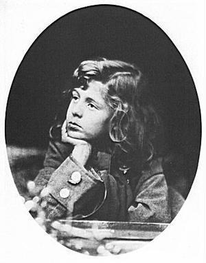 Oscar Gustave Rejlander - Photograph of a young Hallam Tennyson, son of Alfred Tennyson