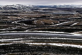 Image illustrative de l'article Refuge faunique national du delta du Yukon