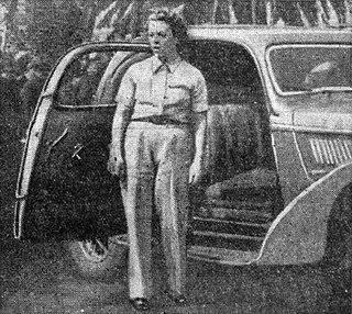 Yvonne Simon French racing driver
