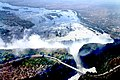 Zambezi Bridge by Victoria Falls through the helicopter.jpg