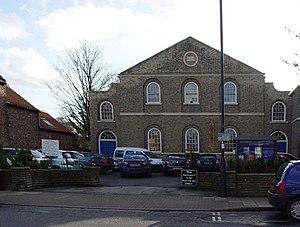 Cottingham, East Riding of Yorkshire - Zion Chapel, built 1819 (2008)