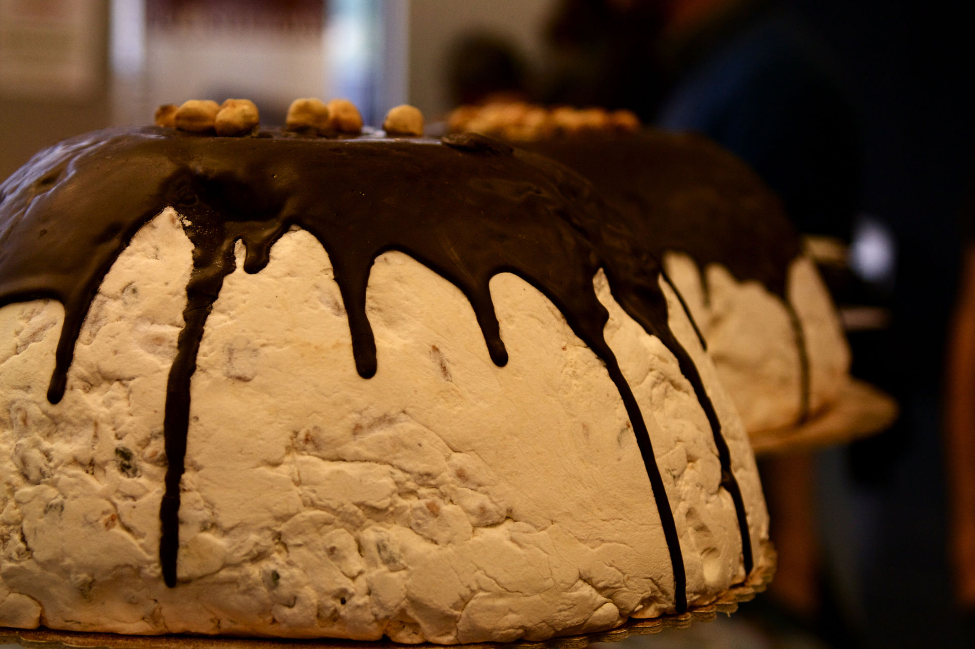 Chocolate Zuccotto Cake From Maggiano