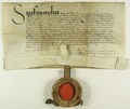 Zygmunt I Stary król polski zgadza się na wykup sołectwa we wsi Winiary oraz na włączenie tego sołectwa do majątku miejskiego..png