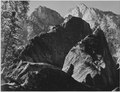 """Grand Sentinel, Kings River Canyon (Proposed as a national park),"" California, 1936., ca. 1936 - NARA - 519916.tif"