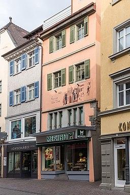 Wessenbergstraße in Konstanz