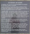 """Journey of Hope"" memorial plaque, Kilmore Quay - geograph.org.uk - 1301583.jpg"