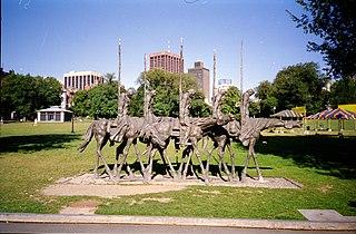 The Partisans (sculpture)