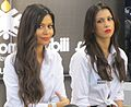 """ 12 - ITALY - Motor Show Bologna 2012 - Girl and promotional models 07.jpg"