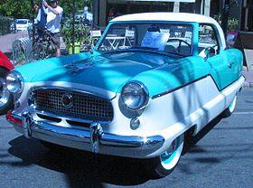 '58 Nash Metropolitan (Auto classique Pointe-Claire '11).JPG