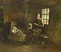 'Bij de wieg' Rijksmuseum SK-A-2437.jpeg