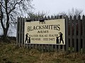 'The Blacksmiths Arms' sign - geograph.org.uk - 1744846.jpg