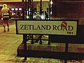 'Zetland Road' sign, at the Albert Road junction - geograph.org.uk - 1552386.jpg