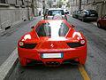 ' 10 - ITALY - Ferrari 458 Italia rossa a Milano 06.jpg
