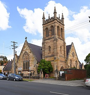 St Pauls Anglican Church, Burwood Church in New South Wales, Australia