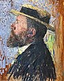 (Albi) Portrait de Jean Jaurès 1905 - Henri Martin - huile sur bois - acquis en 1939 MTL.inv.317.jpg