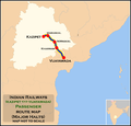 (Kazipet - Vijayawada) Passenger route map.png